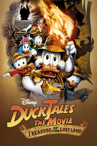 DuckTales: The Movie - Treasure of the Lost Lamp Poster
