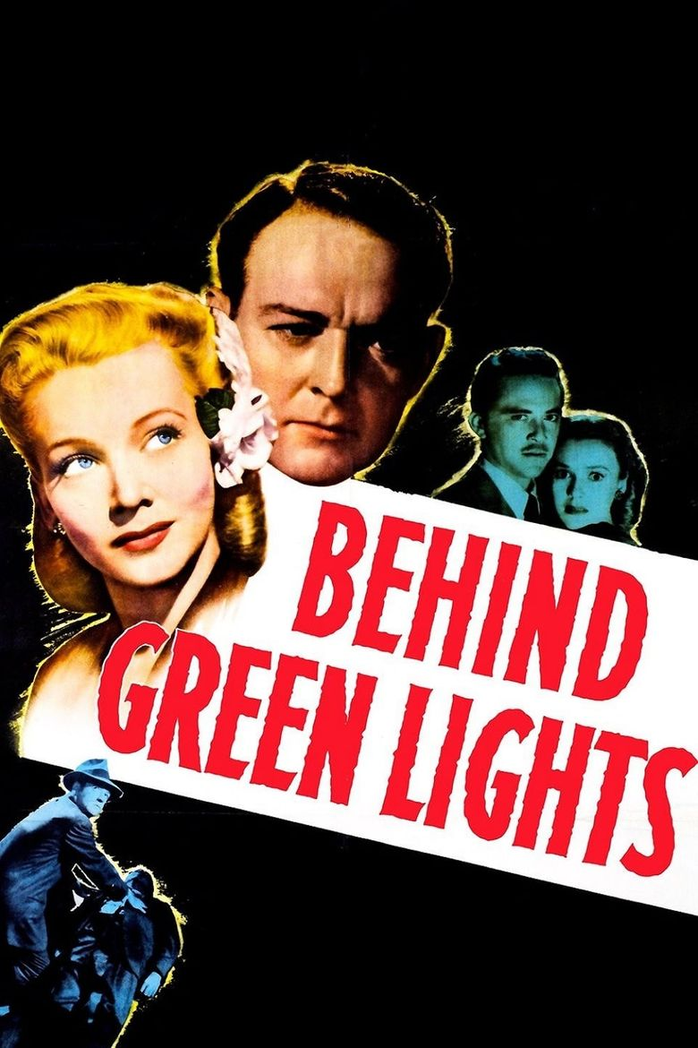 Behind Green Lights Poster