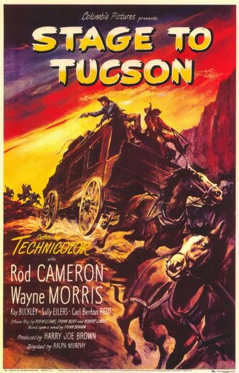 Stage to Tucson Poster