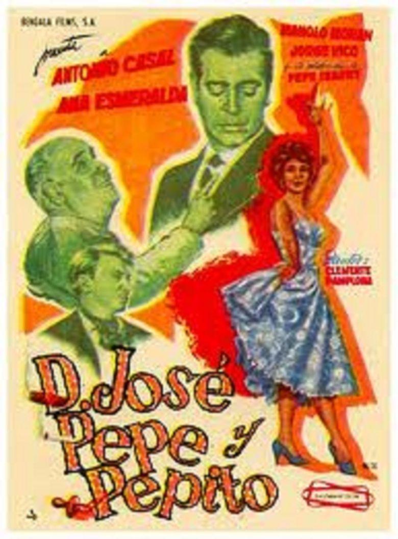 Don José, Pepe y Pepito Poster