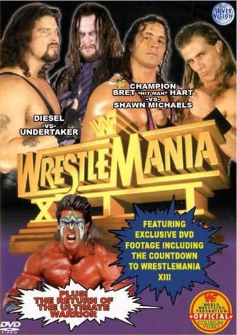 WWE WrestleMania XII Poster