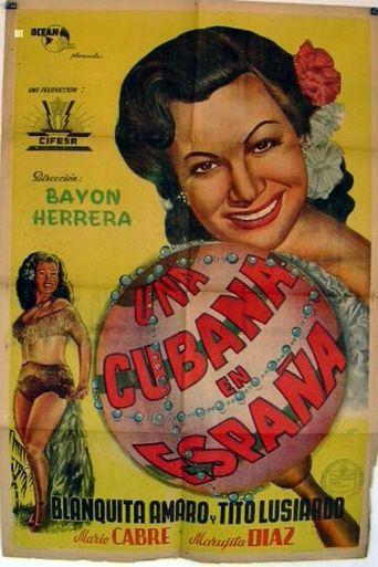 Una cubana en España Poster