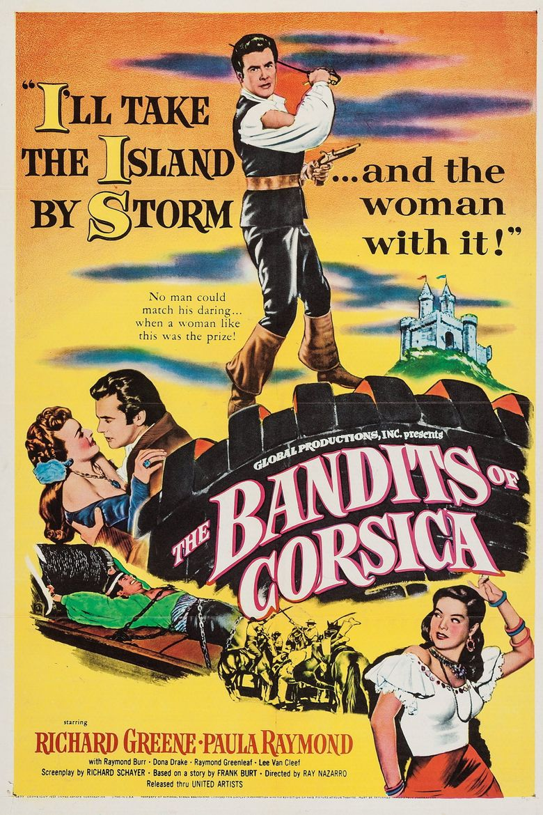 The Bandits of Corsica Poster