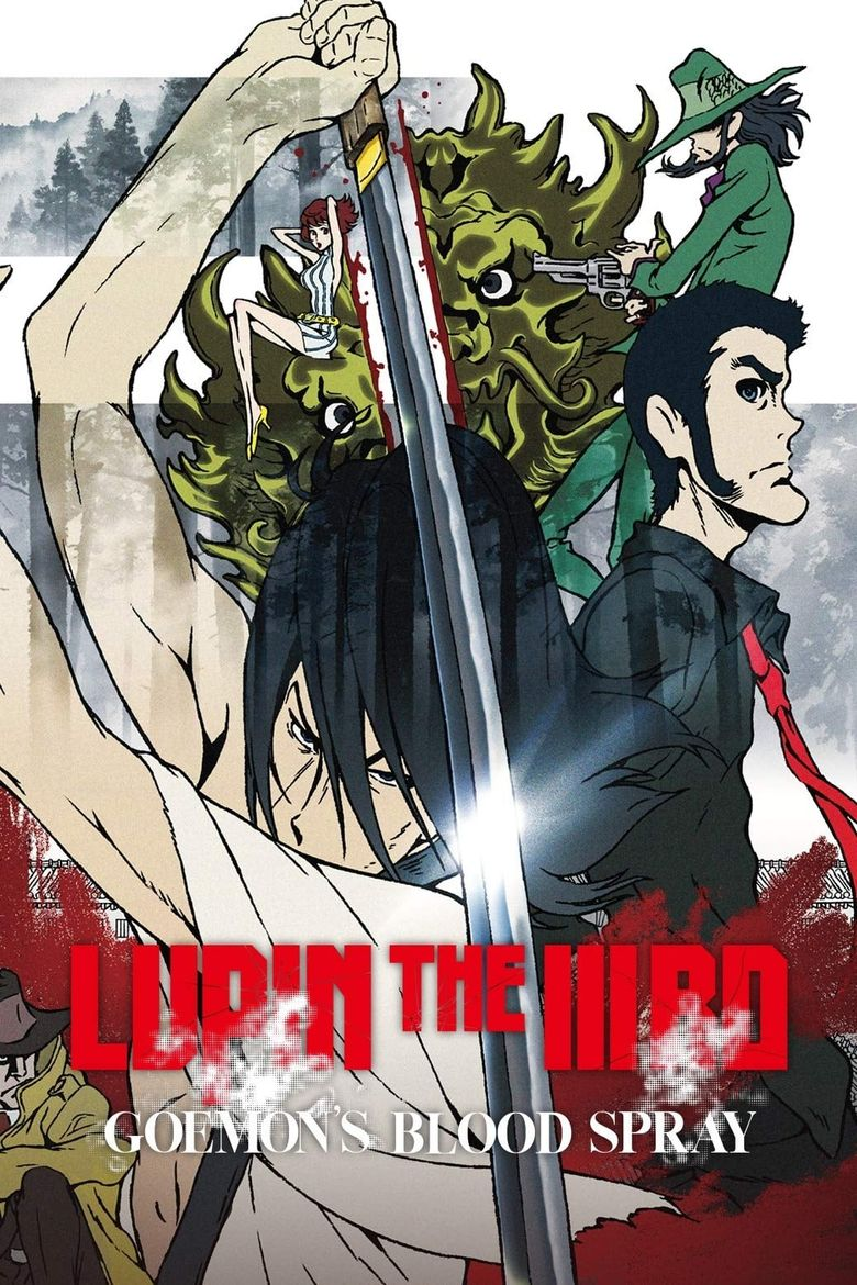 Lupin the Third: Goemon's Blood Spray Poster