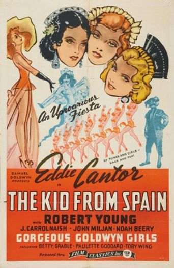 The Kid from Spain Poster