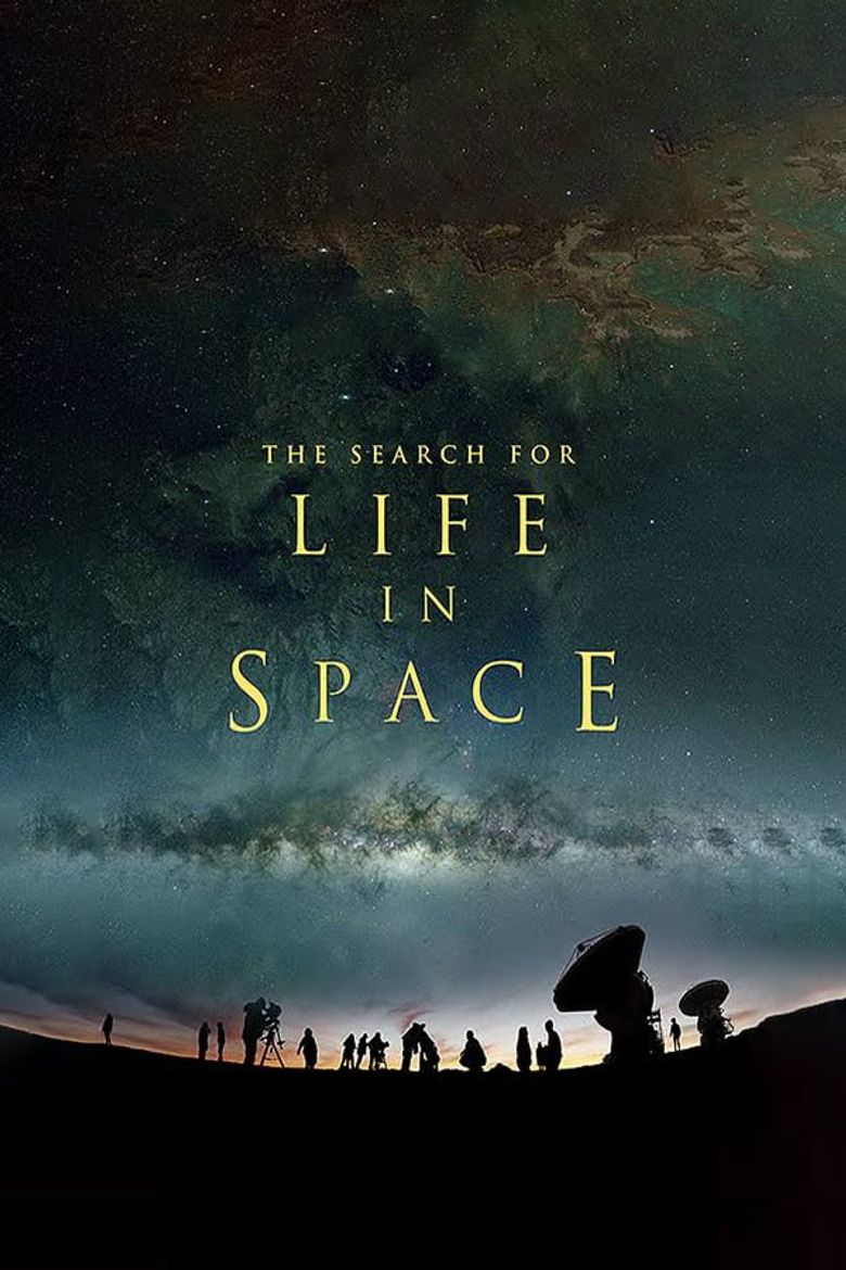 The Search for Life in Space Poster