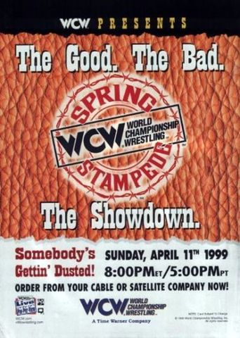 WCW Spring Stampede 1999 Poster