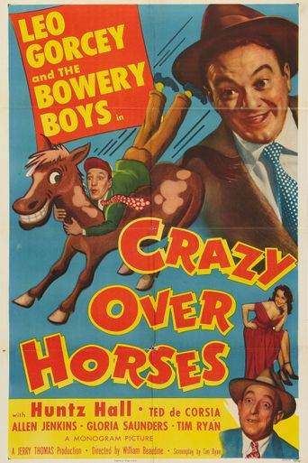 Crazy Over Horses Poster