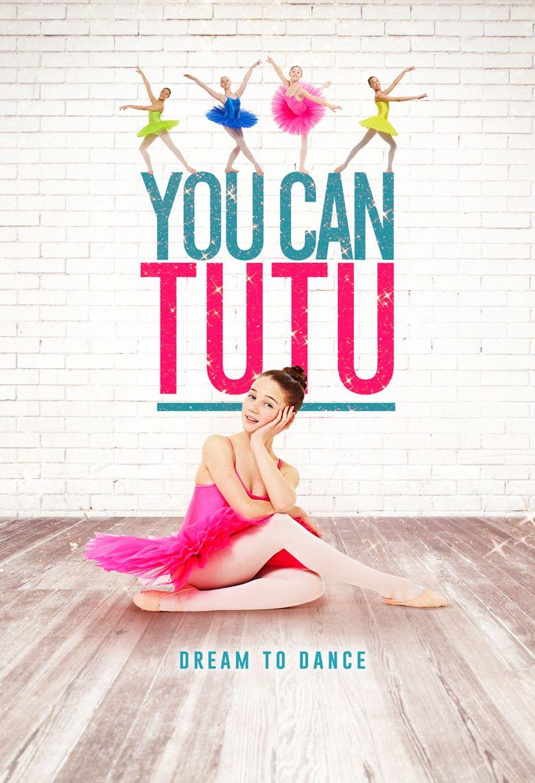 You Can Tutu Poster