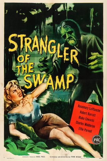 Strangler of the Swamp Poster