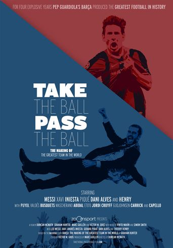 Take the Ball, Pass the Ball Poster