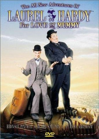 The All New Adventures of Laurel & Hardy in For Love or Mummy Poster