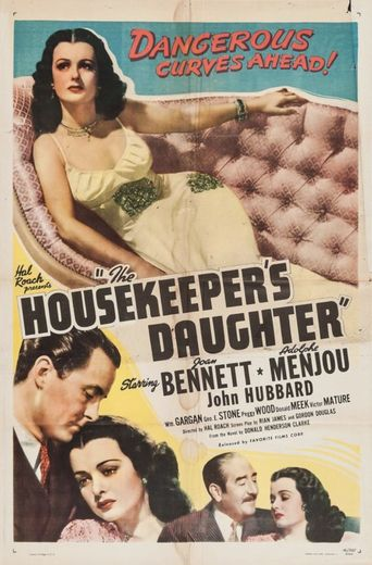 The Housekeeper's Daughter Poster