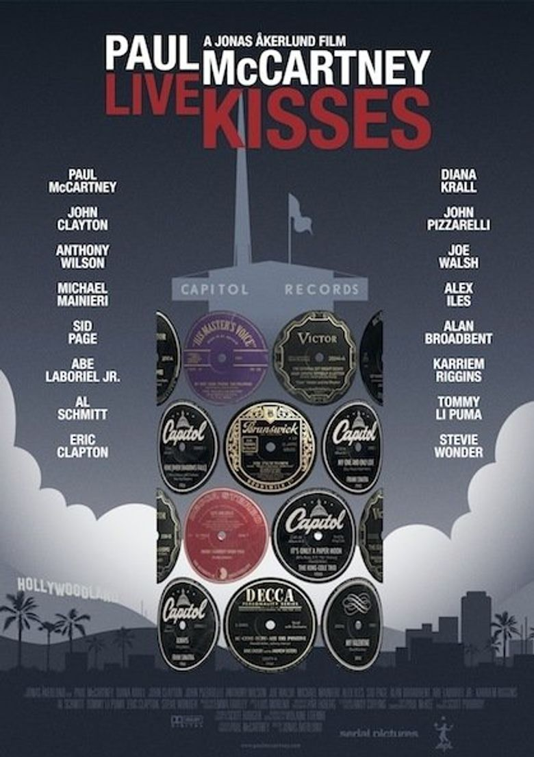 Paul McCartney: Live Kisses Poster
