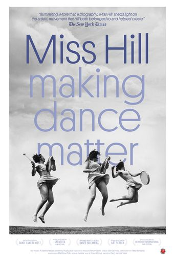 Miss Hill: Making Dance Matter Poster