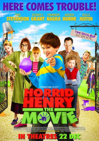 Horrid Henry: The Movie Poster