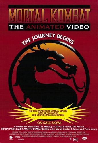 Mortal Kombat: The Journey Begins Poster