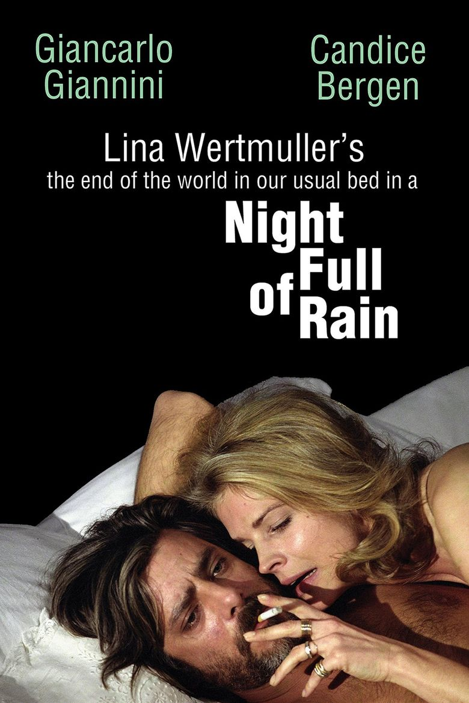 A Night Full of Rain Poster
