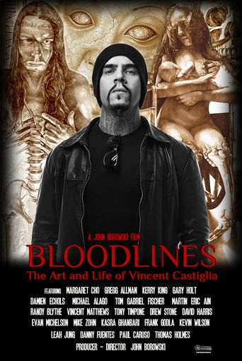 Bloodlines: The Art and Life of Vincent Castiglia Poster