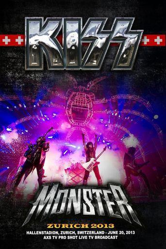 Kiss: Monster Tour in Zurich Poster