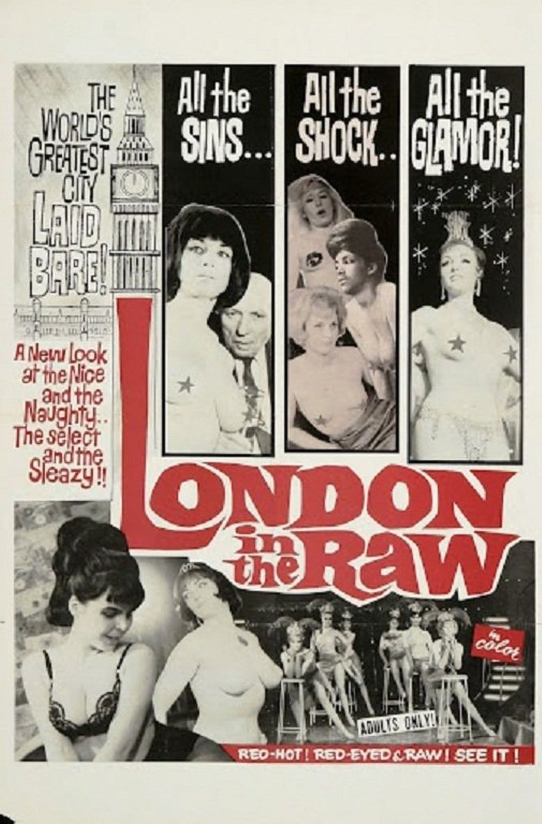 London in the Raw Poster