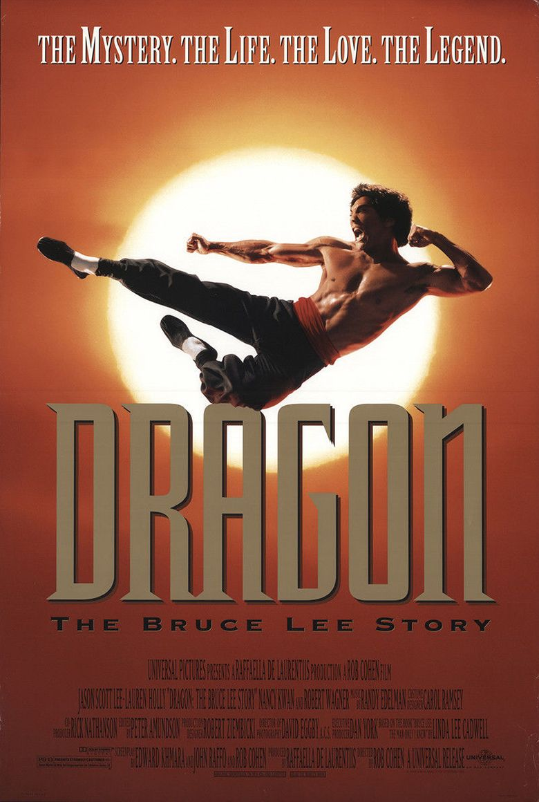 Dragon: The Bruce Lee Story Poster