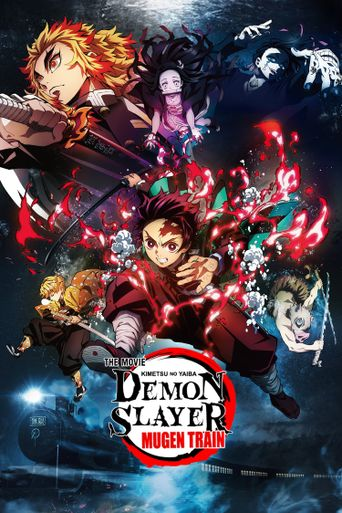 Demon Slayer -Kimetsu no Yaiba- The Movie: Mugen Train Poster