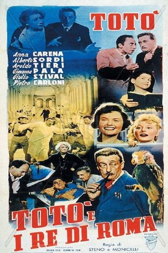 Toto and the King of Rome Poster