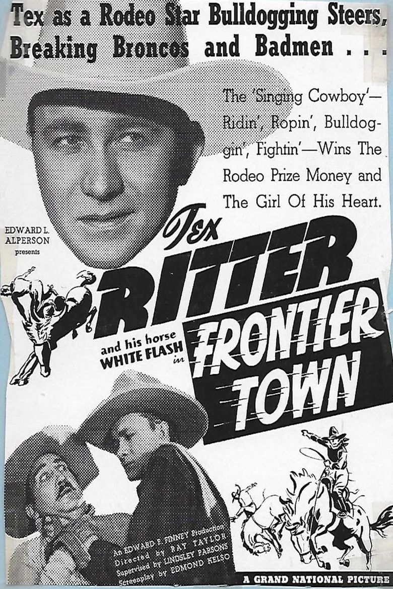 Frontier Town Poster