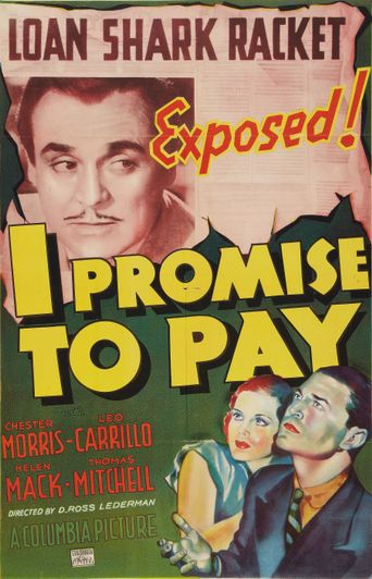 I Promise to Pay Poster