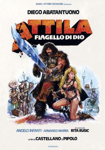Attila flagello di Dio Poster