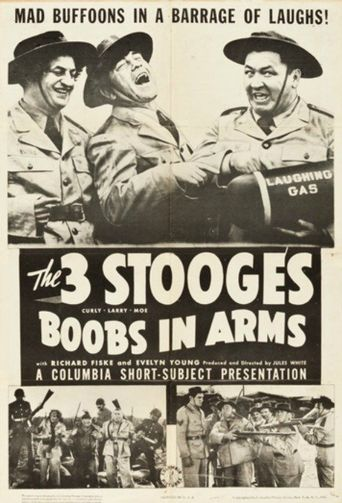 Boobs in Arms Poster
