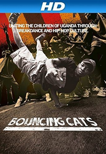 Bouncing Cats Poster