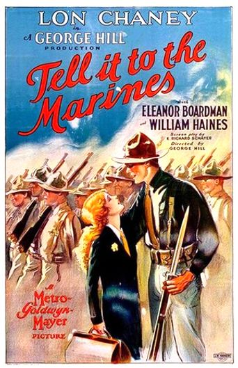 Tell It to the Marines Poster