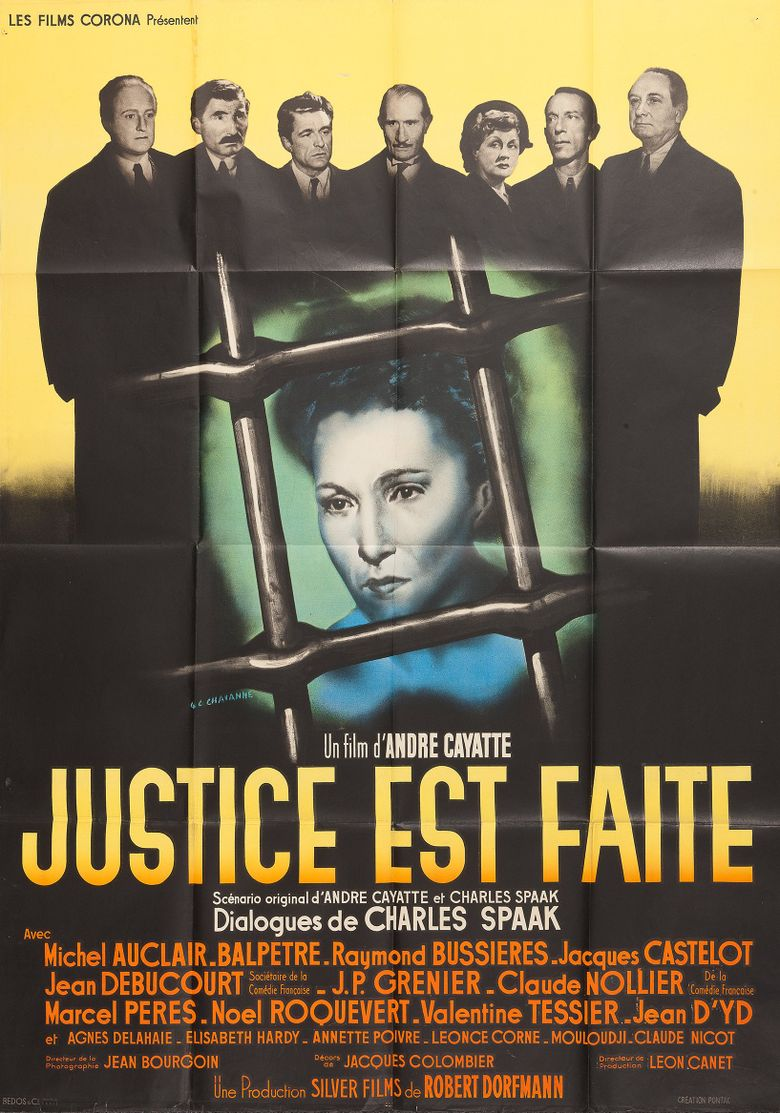 Justice Is Done Poster