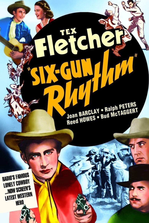 Six-Gun Rhythm Poster