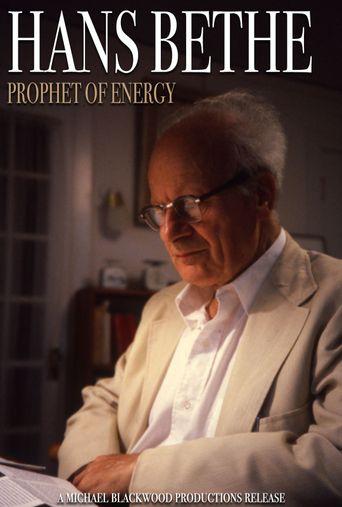 Hans Bethe: Prophet of Energy Poster