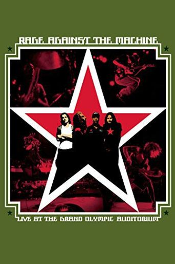 Rage Against the Machine: Live at the Grand Olympic Auditorium Poster
