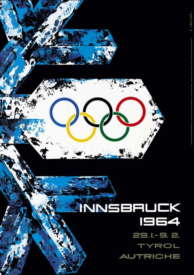 IX Olympic Winter Games, Innsbruck 1964 Poster