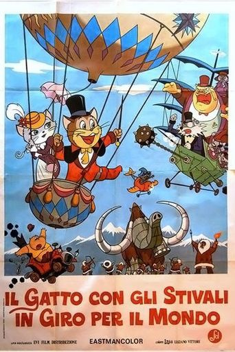 Puss 'N Boots Travels Around the World Poster