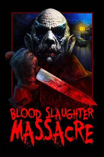 Blood Slaughter Massacre Poster