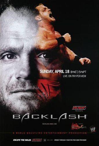 WWE Backlash 2004 Poster