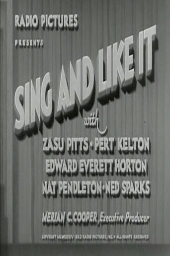 Sing and Like it Poster