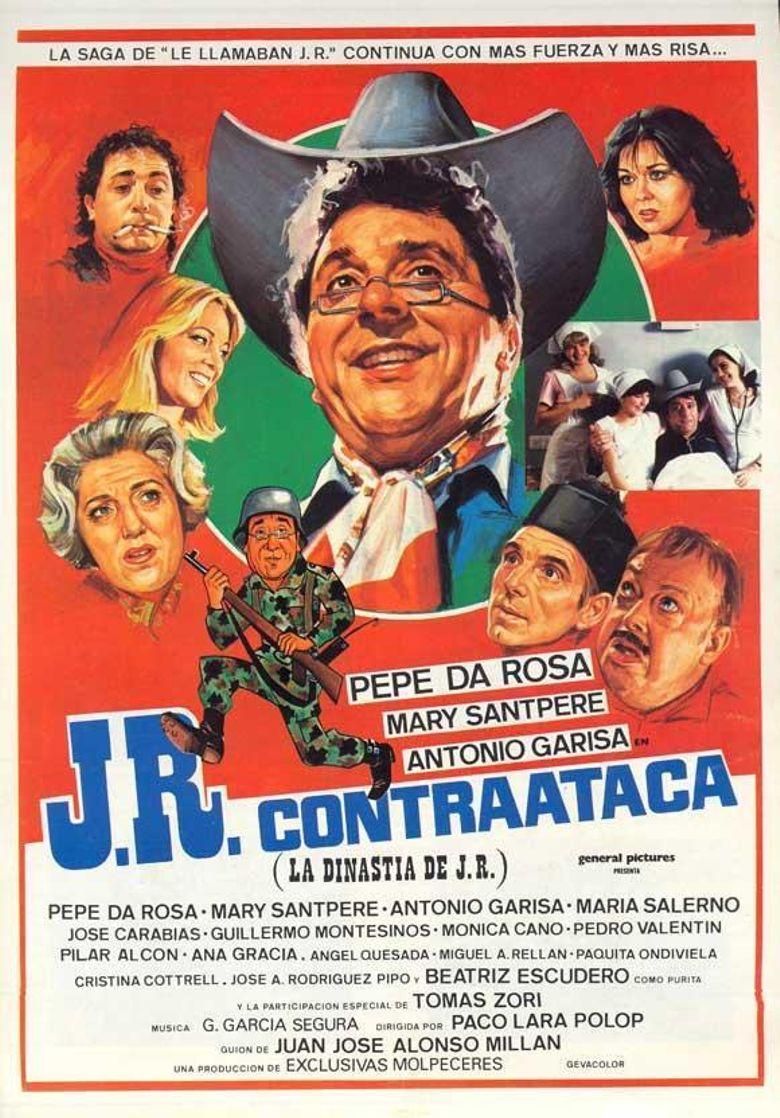 J.R. contraataca (La dinastia de J.R.) Poster