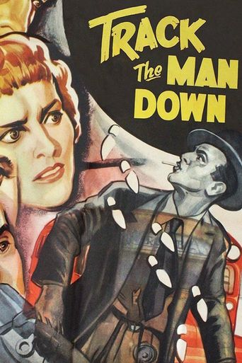 Track the Man Down Poster