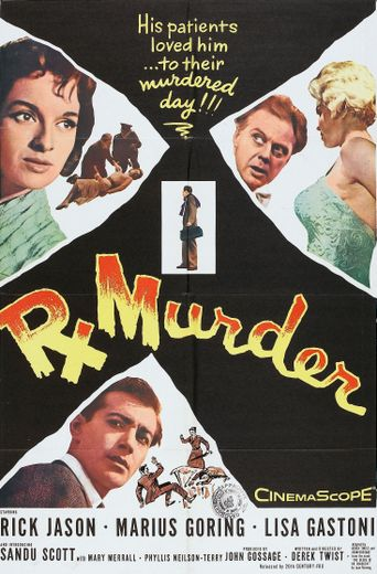 Rx for Murder Poster