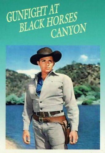 Gunfight at Black Horses Canyon Poster