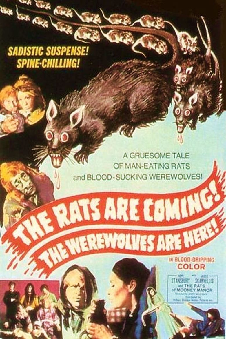 The Rats Are Coming! The Werewolves Are Here! Poster
