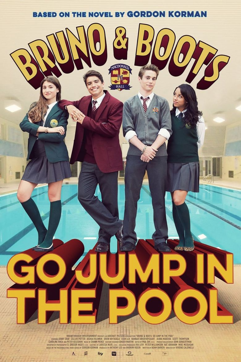 Bruno & Boots: Go Jump in the Pool Poster