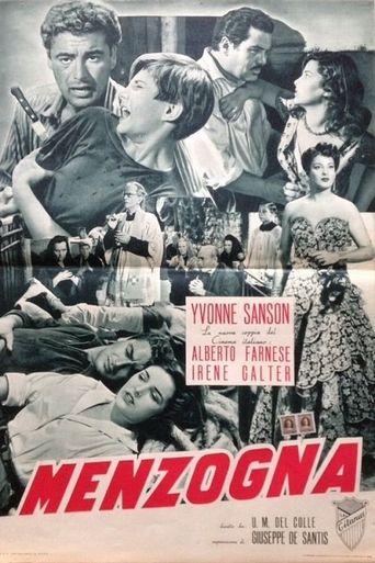 Menzogna Poster